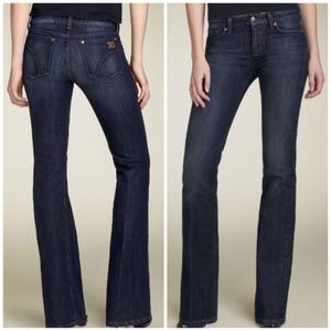 Joe's Muse Lightly Distressed Bootcut Jeans S. 24